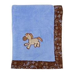 Trend Lab® Cowboy Receiving Blanket