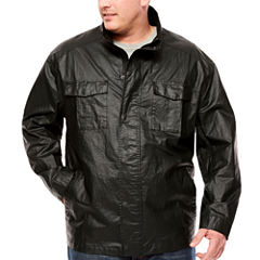 Claiborne Lightweight Shirt Jacket - Big and Tall
