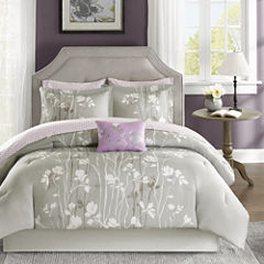 Madison Park Essentials Fulton Complete Bedding Set with Sheets