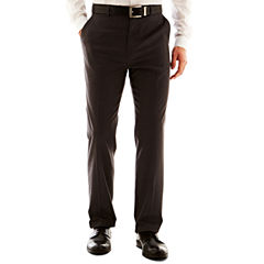 Men's JF J. Ferrar® Solid Flat–Front Slim Fit Big & Tall Pants