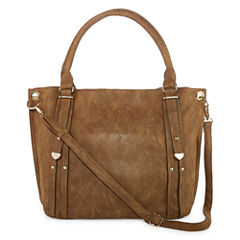Louis Cardy Double Handle With Metal Tabs Tote Bag