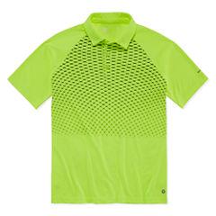 Xersion Short Sleeve Grid Polo Shirt Boys
