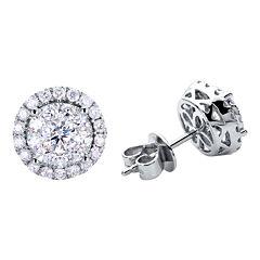 Brilliant Dream™  1/2 CT. T.W. Round Diamond Stud Earrings
