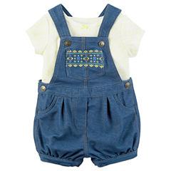 Carter's 2-pc. Shortall Set Baby Girls