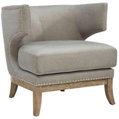 Nailhead Trim Wingback Chair