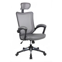 RTA Products LLC Techni Mobili Stylish Mid Back With Adjustable Arms Office Chair