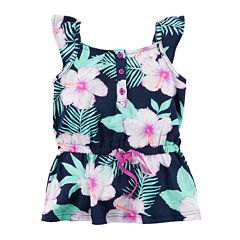 Carter's® Sleeveless Floral Tunic – Toddler Girls 2t-5t