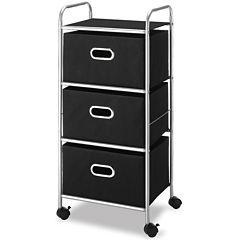 Whitmor 3-Drawer Chest Cart