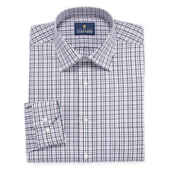 Stafford Easy-Care Broadcloth - Big & Tall Long Sleeve Dress Shirt