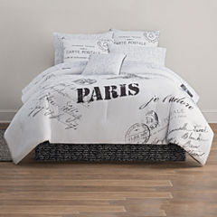 Home Expressions Paris Complete Bedding Set With Sheets Collection