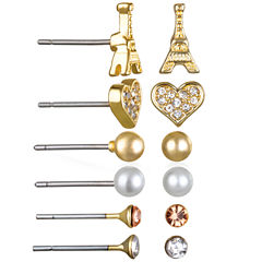 Mixit 6-pc. Earring Sets