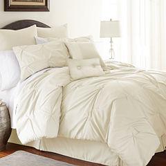 8-pc.Pleated Comforter Set Ella