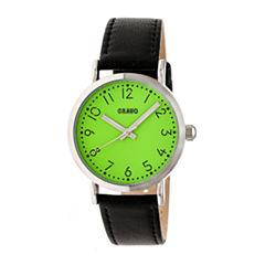 Crayo Pride Unisex Black Strap Watch-Cracr3804