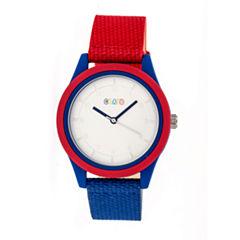 Crayo Pleasant Unisex Multicolor Strap Watch-Cracr3901