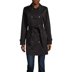 Fleetstreet Collection Belted Trench Coat