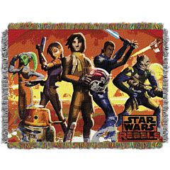 Star Wars Rebels Tapestry Throw