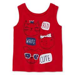 Okie Dokie 100 Tank Top - Baby Girls