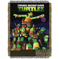 Teenage Mutant Ninja Turtles Tapestry Throw