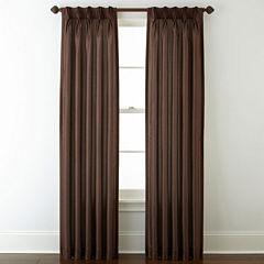 Royal Velvet® Encore Pinch-Pleat/Back-Tab Curtain Panel