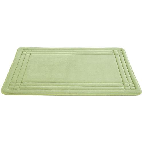 Embossed Memory Foam Geoplex Bath Mat Collection
