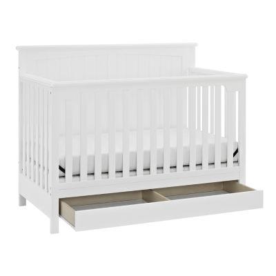 Captivating Storkcraft Davenport 5 In 1 Covertible Crib White