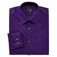 JF J. Ferrar® Slim-Fit Easy-Care Dress Shirt–Big & Tall