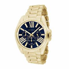 Rocawear Womens Gold Tone Bracelet Watch-Rl11133g1-474