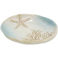 Bacova Coastal Moonlight Soap Dish