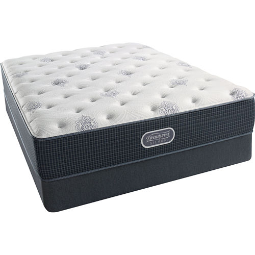 Simmons Beautyrest Silver® Snowhaven Luxury Firm - Mattress   Box Spring