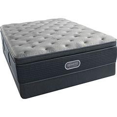 Simmons Beautyrest Silver® Emory Hope Pillowtop Plush - Mattress + Box Spring