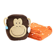 Carter's® Blanket Pals™ Monkey Bag Set