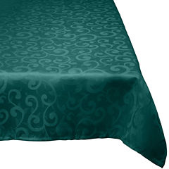 Damask Wrinkle-Resistant Tablecloth