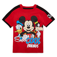 Disney By Okie Dokie Mickey and Friends Graphic T-Shirt-Toddler Boys