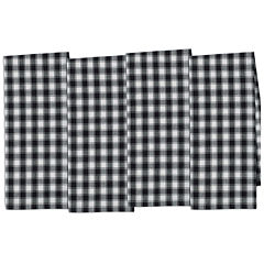 Design Imports French Check Set of 4 Kitchen Towels