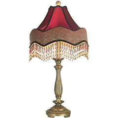 Dale Tiffany™ Beaded Ruby Table Lamp