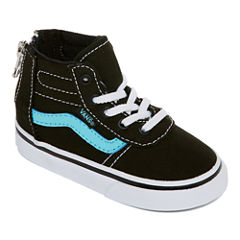Vans Maddie Hi Zip Girls Skate Shoes - Toddler