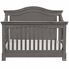 Davinci 4-in-1 Convertible Crib with Toddler Rail- Manor Grey