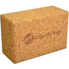 DragonFly™ Premium Cork Yoga Block