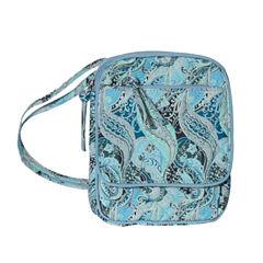 Waverly Swirled Paisley Wos Crossbody Bag