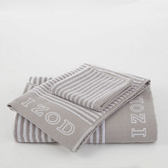 IZOD Pinstripe Bath Towel Collection