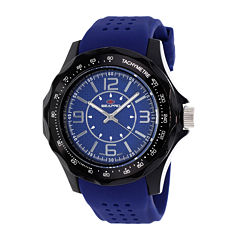 Seapro Dynamite Mens Blue Dial Blue Silicone Strap Watch