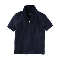 Oshkosh Short Sleeve Polo Shirt - Toddler Boys