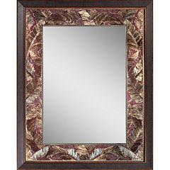 Tropical Leaf Wall Mirror