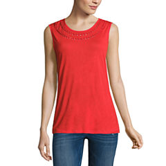 i jeans by Buffalo Cut Out Tank Top