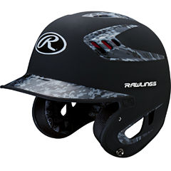 Rawlings 80mph Two-Tone Digi Black Juniors Baseball Helmet