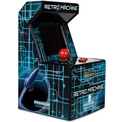 DreamGear DGUN-2577 My Arcade Retro Machine Gaming System with 200 Built-in Video Games