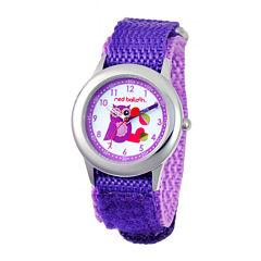 Red Balloon™ Girls' Owl Dial Purple Strap Watch