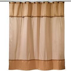 Avanti® Braided Medallion Shower Curtain