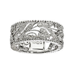 1/3 CT. T.W. Diamond 14K White Gold Ring