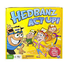 Spin Master Games Hedbanz Act Up!